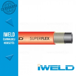IWELD SUPERFLEX AC Gáztömlő 6,3mm 50m