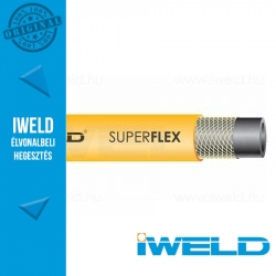 IWELD SUPERFLEX Pb Gáztömlő 6,3mm 50m