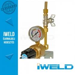 IWELD DYNALINE 10 bar Oxigén hálózati nyomáscsökkentő (set)