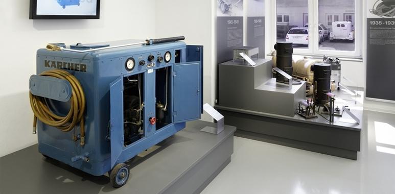 Karcher DS 350 - Az első forróvizes magasnyomású mosó