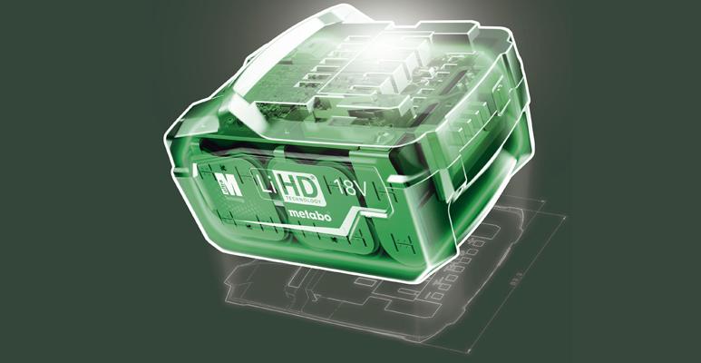 Metabo LiHD akkutechnológia