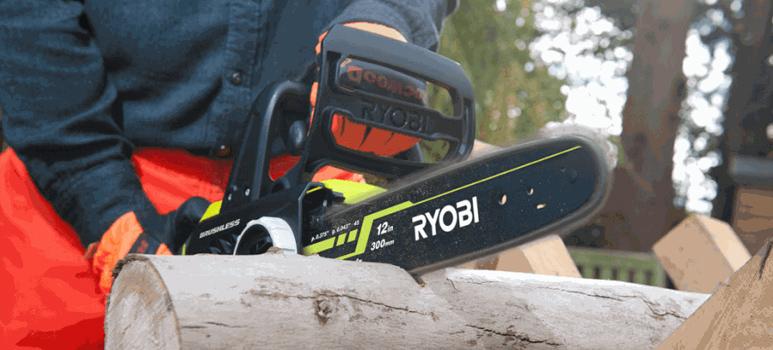 Ryobi OCS1830 Szénkefementes láncfűrész