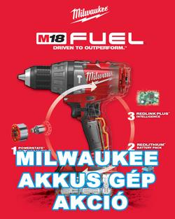 Milwaukee Akkusgép Akció